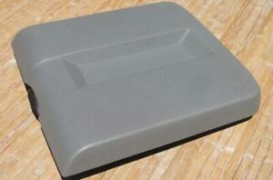 Dodge Ram Floor Console Lid 06 08 Armrest Top Gray Arm Rest Cover Oem