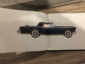 1956 1957 Lincoln Mark 2 Book Very Rare