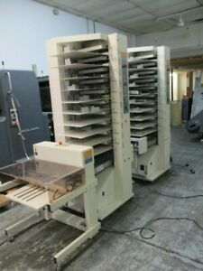Cp Bourg 2 X 10 Station Air Tower Collator Stacker