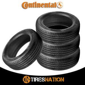 4 New Continental Procontact Tx 225 55 18 98h Grand Touring All Season Tire