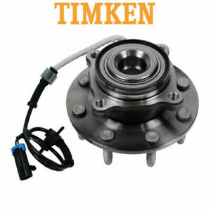 New Timken Front Wheel Hub Bearing Assembly Fit For Gmc Trucks 4x4 8 Lug Abs