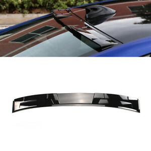 Rear Window Roof Wing Spoiler Glossy Black Fit For 2018 2020 Honda Accord