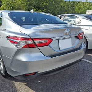Rear Bumper Protective Trim Molding 22 Scratch Guard For Toyota Camry 2018 2021