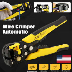 Automatic Wire Striper Cable Cutter Crimper Pliers Terminal Tool Professional 8