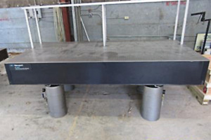 Newport Rs 1000 Air Floating Or Rigid Fixture Optical Table 4 X 8 X 12