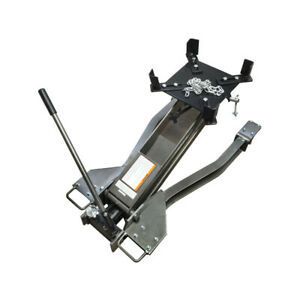 Heavy Duty 2 000 Lb Low Profile Transmission Jack Lift Car Truck 31 1 2 Lift