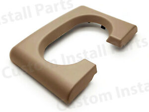 Center Console Cup Holder Replacement Pad Medium Parchment Pebble Fits Ford F150