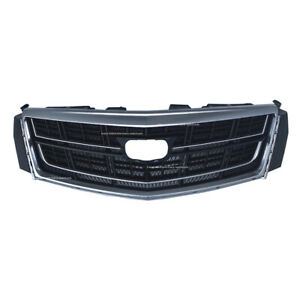 Front Upper Bumper Radiator Grill Grille Fit For Cadillac Xts 2014 To 2016 New