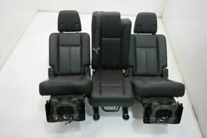2007 14 Ford Expedition 2nd Row Right Left Power Seat Center Manual Black