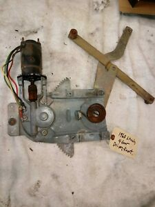 1956 To 1962 Ford Mercury Power Window Motor Regulator From 1960 Lincoln 4 Dr