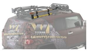 Warrior Products 3841 Shovel Mount Front And Rear Black