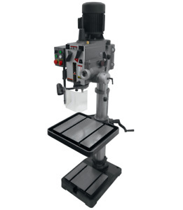 Jet 20 Gear Head Tapping Drill Press With Power Down Feed 230v 3ph 354026