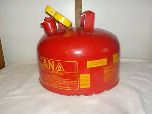 Eagle Steel Safety Gas Can 2 Gallon Capacity Model Ui 20 fs