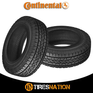 2 New Continental Terrain Contact H t 245 65r17 107t Fr Tires