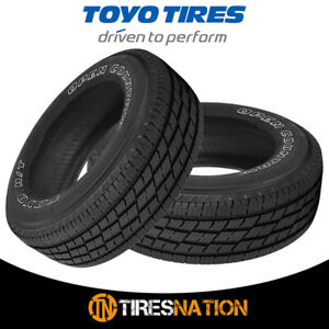 2 New Toyo Open Country H T Ii Lt245 70r17 10 119 116s Owl Tires