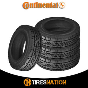 4 New Continental Terrain Contact H t 245 65r17 107t Fr Tires