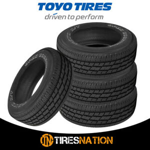 4 New Toyo Open Country H T Ii 255 65r17 110t Owl Tires