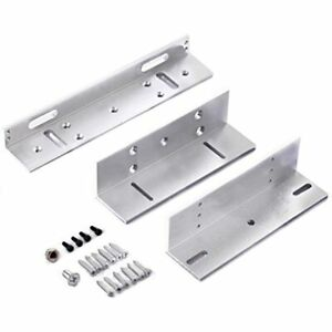Zl Bracket For Inward Door 280kg 600lbs Holding Force Electric Magnetic Lock