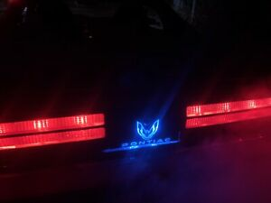 Rgb Firebird trans am Light Up Taillight Logo Panel 82 92 Kit Read Description