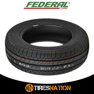 1 New Federal Ss 657 P165 80r15 87t All Season Tires