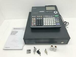 Casio Se s900 Electronic Cash Register Dual Tape Thermal W 10 Line