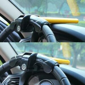 Universal Car Steering Wheel Lock Works Ultra Tough To Resist Shock For Most Car