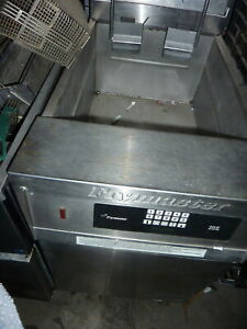 Frymaster Floor Model Nat Gas Fryer solid State Control auto Lift 900 Itemsmore