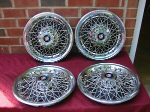 78 87 Buick Regal Nos Wire Hubcaps 14 Inch