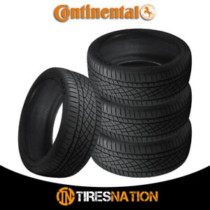 4 New Continental Extremecontact Dws06 245 40r17 91w All season Radial Tire