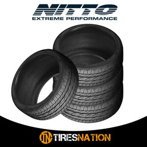 4 New Nitto Motivo 275 40 20 106y Ultra High Performance Tire