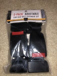 Lux Automotive Car Seat Belt Extender Set Adjustable 11 14 2 Pack Brand New