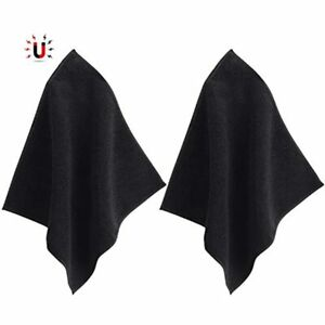 Magnetic Cleaning Cloth Microfiber Dry Erase Towel Whiteboard For Board Black
