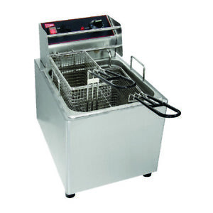 Commercial Double Tank Deep Fryer 2 Ltr Free Shipping In Usa