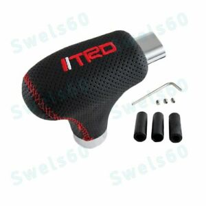 Universal Car Gear Transmission Shift Knob Side Release Button For Toyota Trd X1