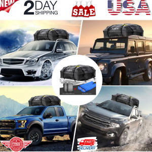 Large Waterproof Roof Car Top Bag Carrier Storage Travel Luggage Cargo Box New