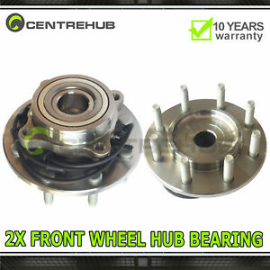 2 Front Wheel Bearing Hub Assembly For Chevy Silverado 1500 Escalade Yukon Tahoe