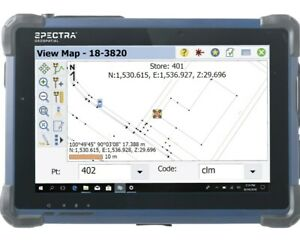 Spectra Geospatial St10 Tablet Data Collector W 4g Modem Survey Pro Software