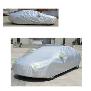 Car Cover Waterproof Sun Uv Snow Dust Resistant Aluminum Fit For Bmw 7 300c New