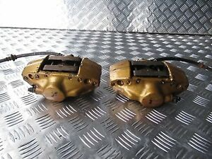 Jdm 02 06 Impreza Wrx Rev7 Gdb Gdba Gga Sti Brembo Rear 2pot Calipers Brake Oem