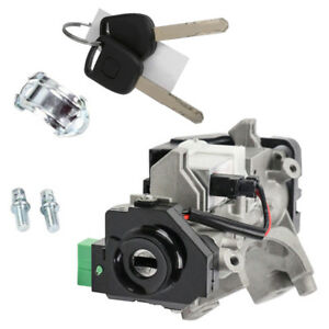 Ignition Switch Cylinder Lock Auto Trans 2 Keys For Honda Civic 48chips Us