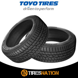 2 New Toyo Celsius Cuv 255 55 18 109v Touring All season Traction Tires