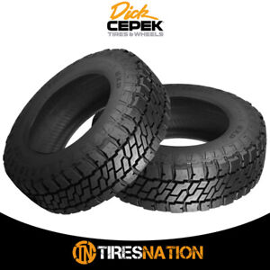 2 New Dick Cepek Trail Country Exp Lt265 65r17 10 Tires