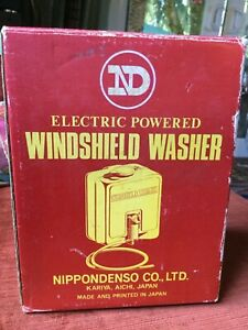 New Vintage Japanese Nd Windshield Wiper Washer Kit Add On Or Display Or Rat Rod