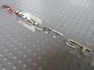 Pontiac Pursuit Gt Rear Trunk Lid Chrome Emblem Sign Badge Logo Oem 15264501