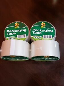 4 Rolls Clear Duck Packaging Packing Carton Shipping Tape 1 88 X 50 Yards