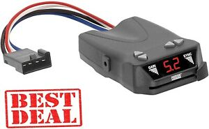 Compact Electric Trailer Brake Controller Timed Reese Towpower Brakeman Controls