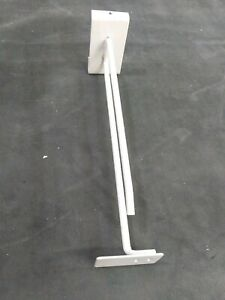 30 Store Display 10 Inch Slat Wall Board Hooks Pegs With Price Tag Plate