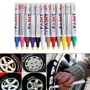 Tyre Permanent Paint Pen Tire Metal Outdoor Marking Ink Marker Trend