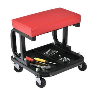 14 Creeper Garage Workshop Mechanics Mechanic Trolley Seat Stool Swivel Wheels