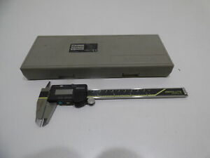 Mitutoyo Absolute Digital Caliper Digimatic Code 500 171 Model Cd 6 C